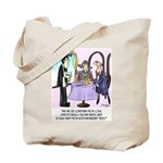 Wine Cartoon 9496 Tote Bag
