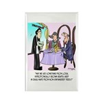 Wine Cartoon 9496 Rectangle Magnet (10 pack)