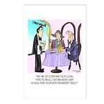 Wine Cartoon 9496 Postcards (Package of 8)