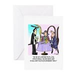 Wine Cartoon 9496 Greeting Cards (Pk of 20)