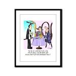 Wine Cartoon 9496 Framed Panel Print