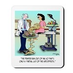 Side Effects Cartoon 9486 Mousepad