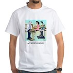 Side Effects Cartoon 9486 White T-Shirt