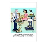 Side Effects Cartoon 9486 Postcards (Package of 8)