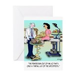 Side Effects Cartoon 9486 Greeting Card