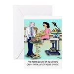 Side Effects Cartoon 948 Greeting Cards (Pk of 20)