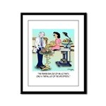 Side Effects Cartoon 9486 Framed Panel Print