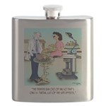 Side Effects Cartoon 9486 Flask