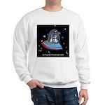 Jet Lag Cartoon 9492 Sweatshirt
