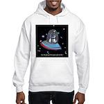 Jet Lag Cartoon 9492 Hooded Sweatshirt