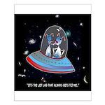 Jet Lag Cartoon 9492 Small Poster