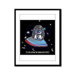 Jet Lag Cartoon 9492 Framed Panel Print