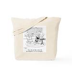 Edgar Allen Poe Cartoon 9485 Tote Bag