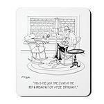 Edgar Allen Poe Cartoon 9485 Mousepad