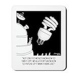 Light Bulb Cartoon 9505 Mousepad
