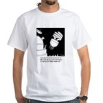 Light Bulb Cartoon 9505 White T-Shirt