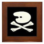 Artist's Jolly Roger Framed Tile
