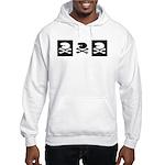 Artist's Jolly Roger Hooded Sweatshirt