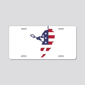 Lacrosse IRockMericaHorz Aluminum License Plate