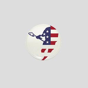 Lacrosse IRockMericaHorz Mini Button