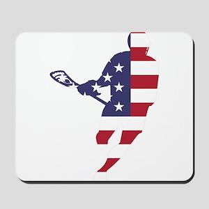 Lacrosse IRockMericaHorz Mousepad