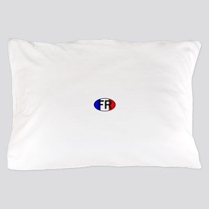 FRANCE OVAL II Pillow Case