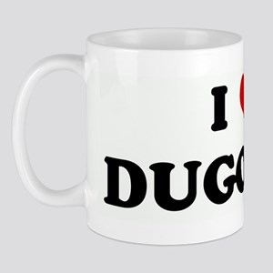 I Love DUGONGS Mug