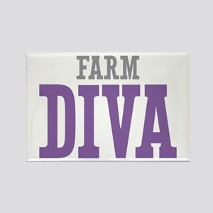 Farm DIVA Rectangle Magnet