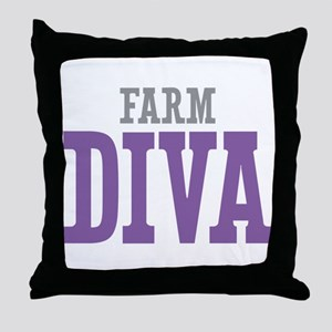 Farm DIVA Throw Pillow
