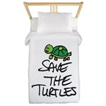 BABY TURTLE HATCHLING Twin Duvet