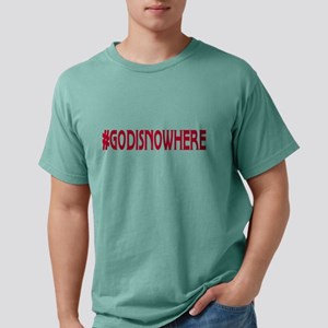 godisnowhere Mens Comfort Colors Shirt