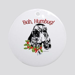Godon Bah Humbug Ornament (Round)