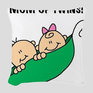 MOMOFTWINSPEAS Woven Throw Pillow