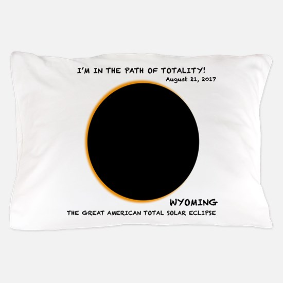 Total Eclipse of 2017-WYOMING Pillow Case