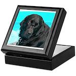 Black Lab image on Keepsake Box