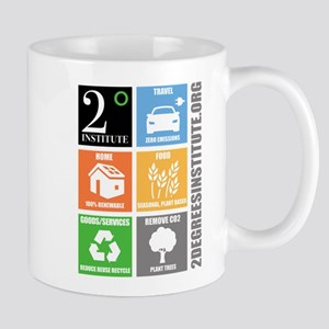 Steps to reduce your Carbon Footprint Mugs
