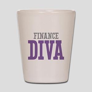 Finance DIVA Shot Glass