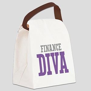 Finance DIVA Canvas Lunch Bag