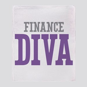 Finance DIVA Throw Blanket