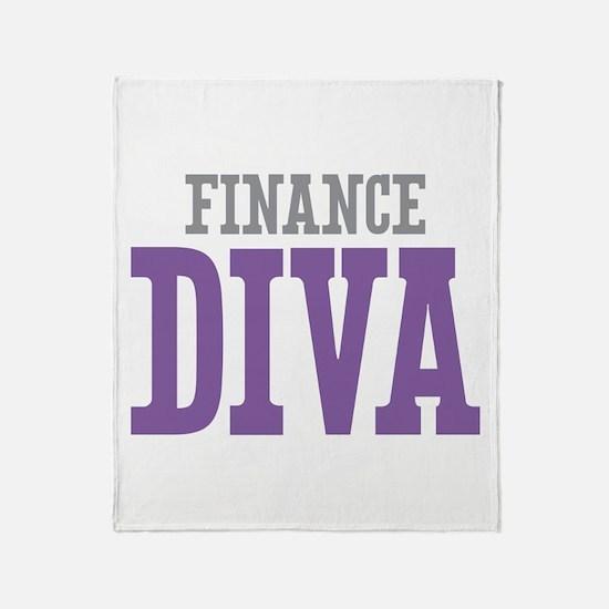 Finance DIVA Throw Blanket