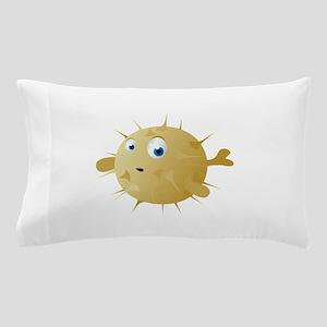 Cartoon Puffer Fish Pillow Case