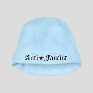Anti-Fascist Anti Fascism Antifa Communis Baby Hat