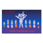 HanuKat Sticker