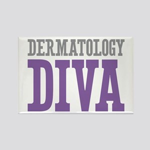 Dermatology DIVA Rectangle Magnet