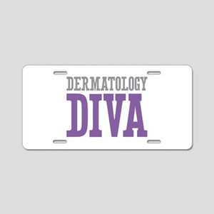Dermatology DIVA Aluminum License Plate