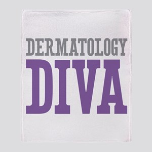 Dermatology DIVA Throw Blanket