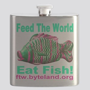 Feed the World Eat Fish! Flask