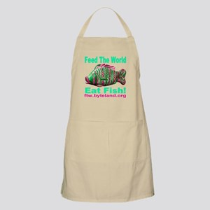 Feed the World Eat Fish! Apron