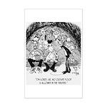 Theater Cartoon 4562 Mini Poster Print