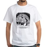 Theater Cartoon 4562 White T-Shirt